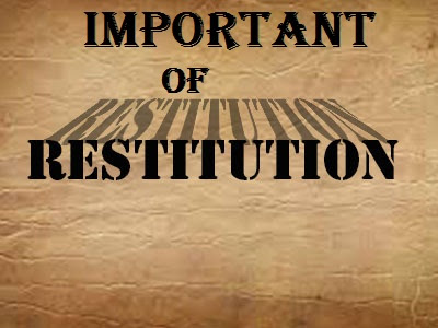 restitution for peace