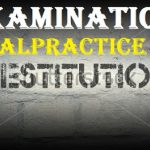 Restitution For Examination Malpractice