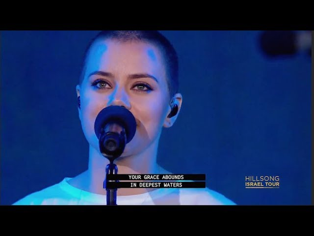 """Hillsong United – """"Oceans"""" (Live show at Caesarea)"""