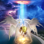 PRAYING IN ANGELIC GATES ​OF TIME