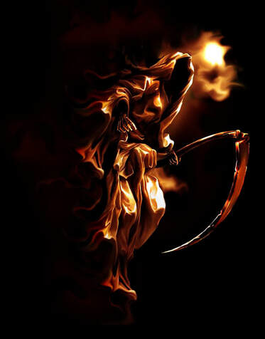 SHADOW OF DEATH AND THE SPIRIT OF INFIRMITY